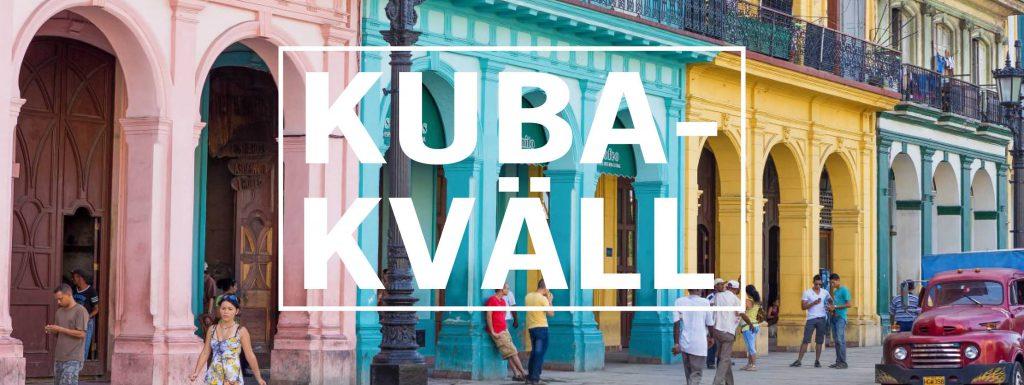 Kubakväll Musik, poesi och kortfilm - Kville Saluhall